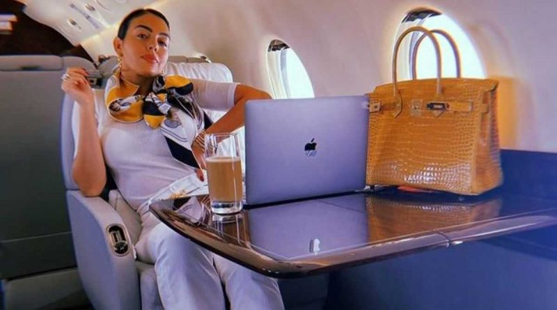 ¡Georgina Rodríguez en viaje de negocios!