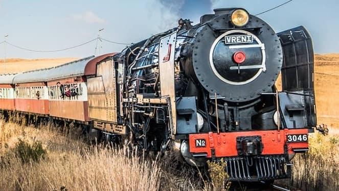 ¡Todos a bordo del Magaliesburg Express!