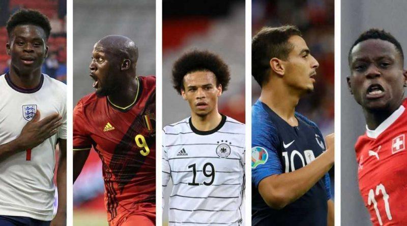 ¡más de cincuenta jugadores de origen africano!