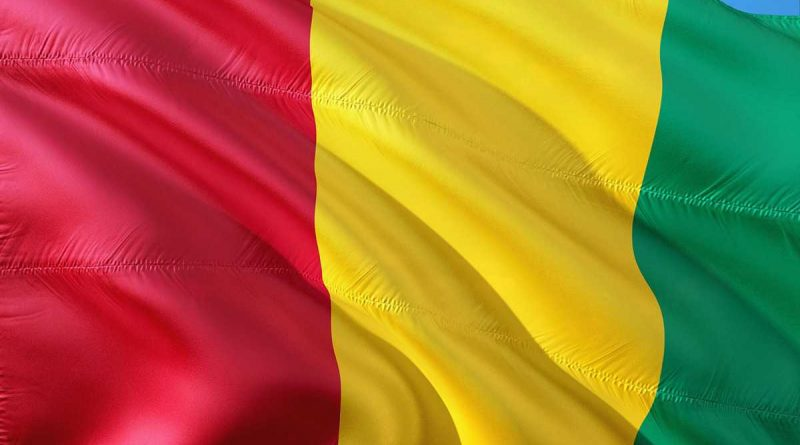 Drapeau de la Guinée