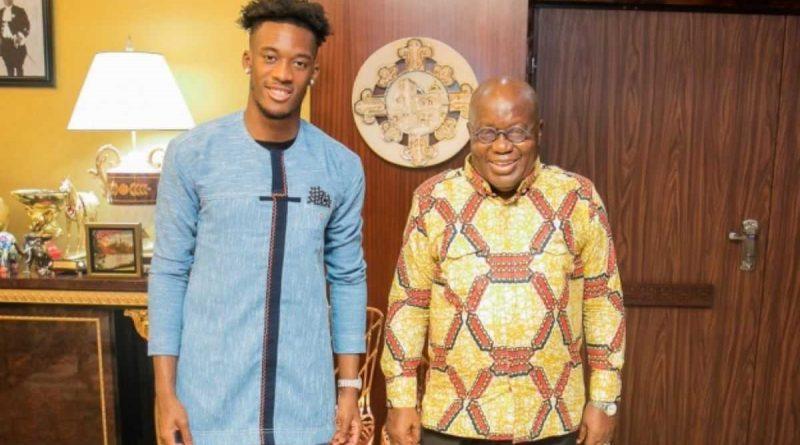 Akufo-Addo insta al Hudson-Odoi del Chelsea a jugar con Ghana