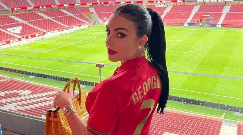 """""""Buena suerte mi amor"""", mensaje de Georgina Rodríguez a Cristiano Ronaldo"""