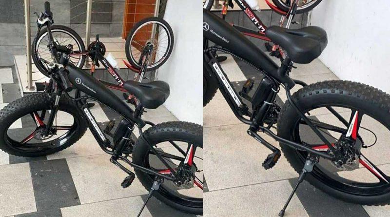 Le vélo de Davido