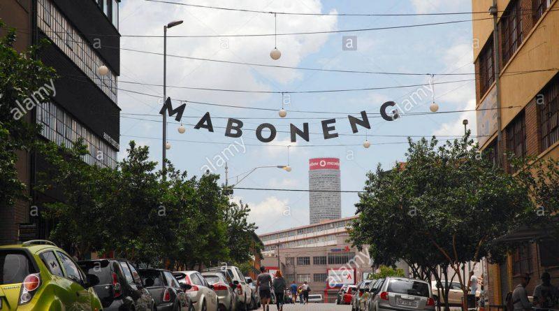 Distrito de Maboneng en Johannesburgo