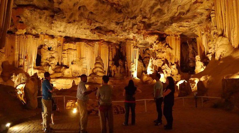 Echo Caves: un país de las maravillas subterráneo