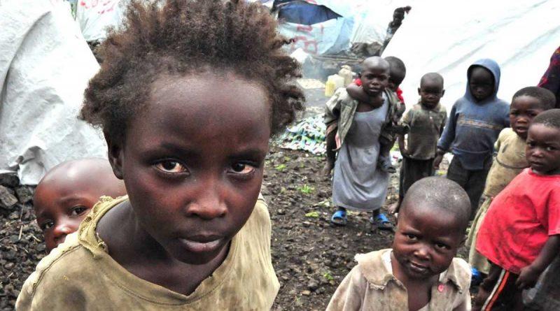 Des enfants déplacés en RDC