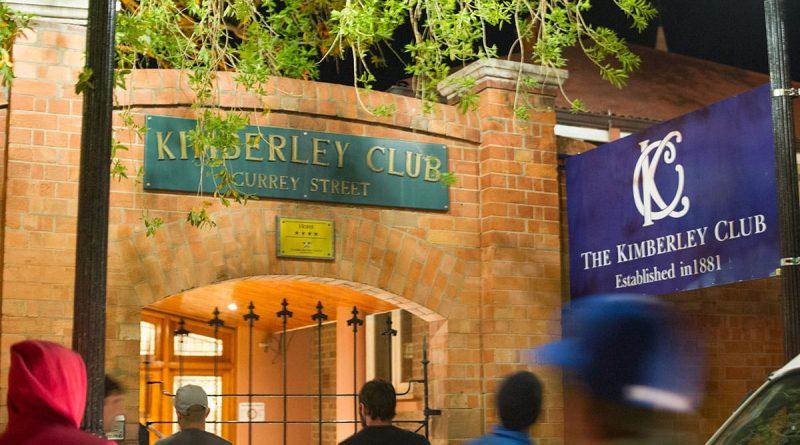 El club de Kimberley    Descubrimiento de Sudáfrica