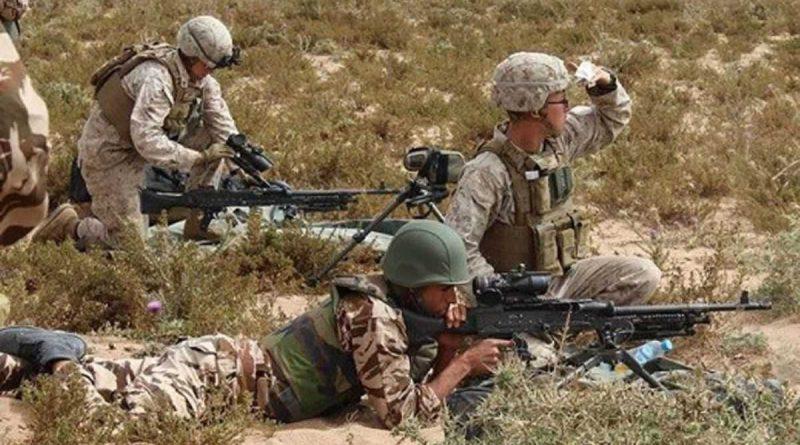 El ejercicio militar marroquí-estadounidense comienza este lunes.