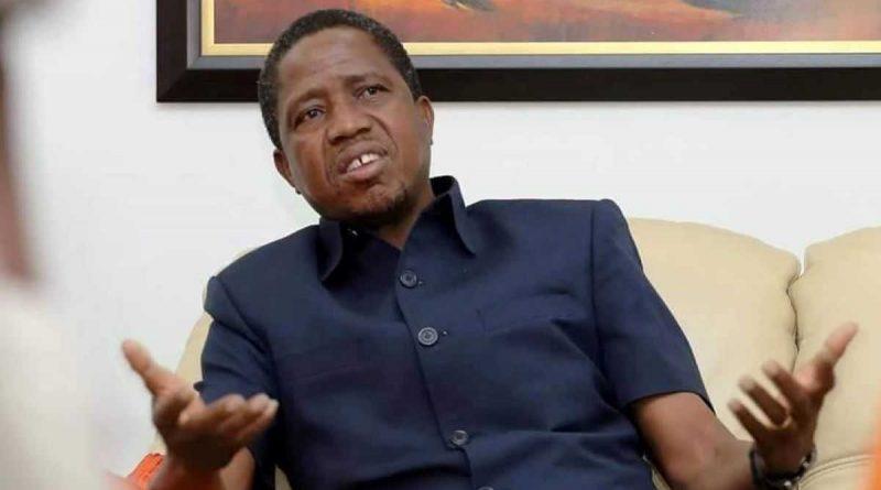 El presidente Lungu tranquiliza tras su malestar