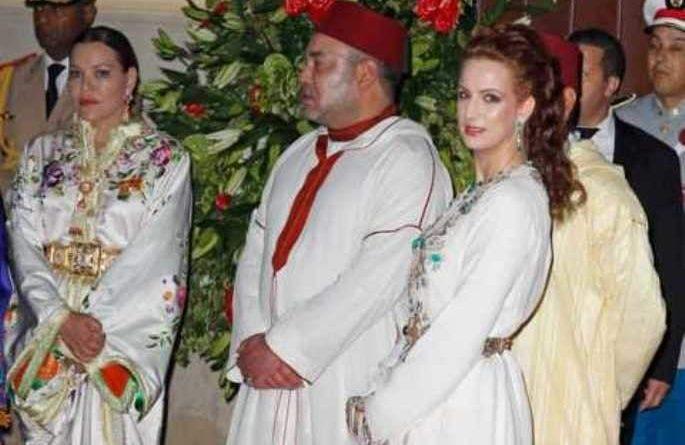 El rey Mohammed VI da a su sobrina en matrimonio