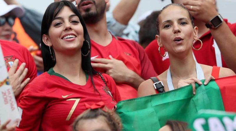 Georgina Rodríguez estará detrás de Ronaldo en la Euro