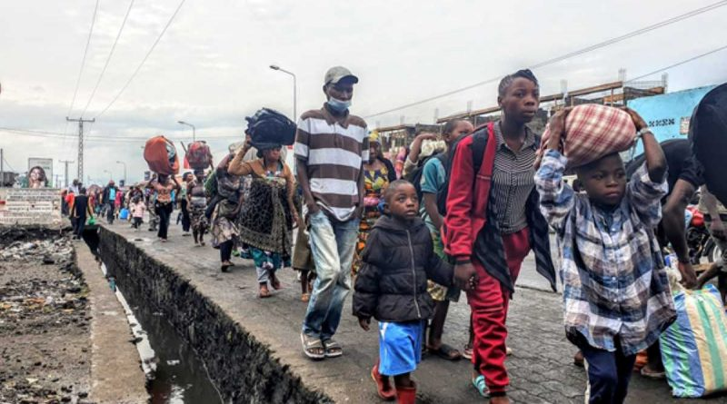 Kenia vuela al socorro en casos de desastre en Goma, RDC