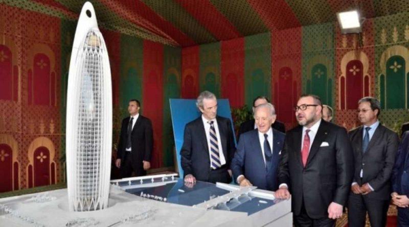 La Torre del Rey Mohammed VI ya tiene una tasa de ejecución del 75%