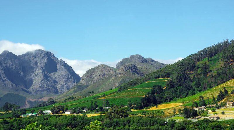 Las cadenas montañosas de Sudáfrica
