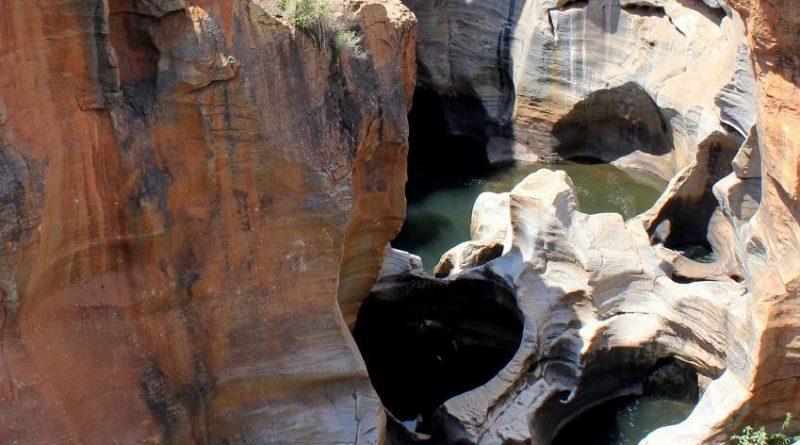 Las grietas de Bourke |  Descubrimiento de Sudáfrica