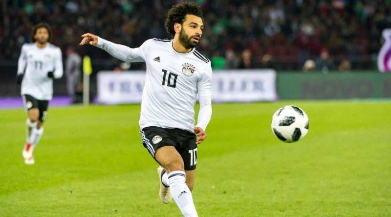 Mohamed Salah con los faraones olímpicos