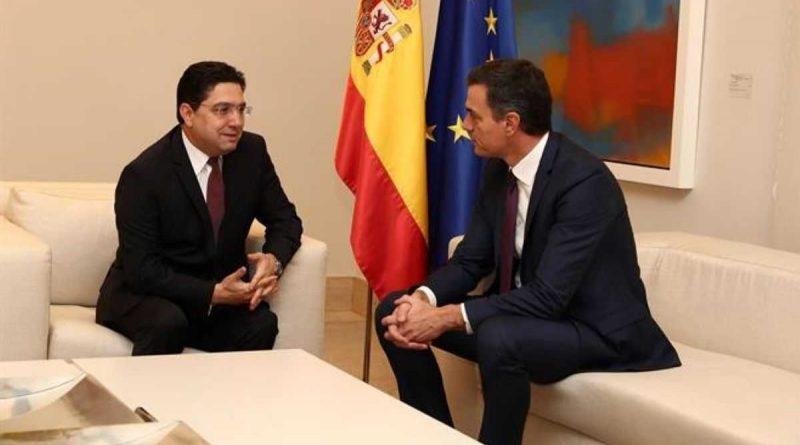 Nasser Bourita et Pedro Sanchez