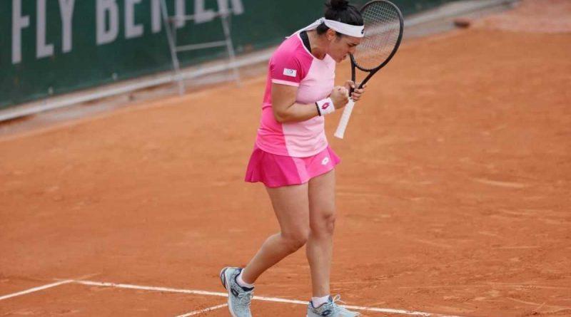 Ons Jabeur se clasificó octavo en Roland-Garros