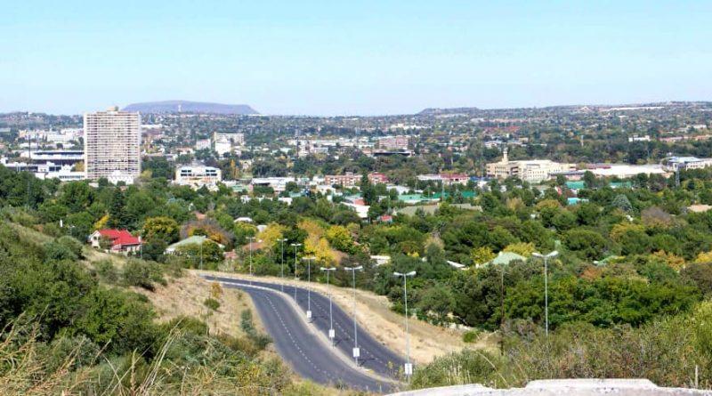 Pequeño recorrido en Bloemfontein, Free State