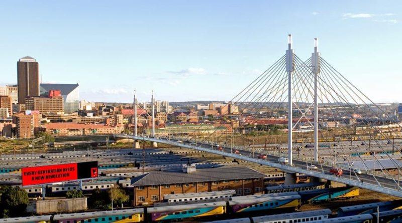 Puente Nelson Mandela de Johannesburgo