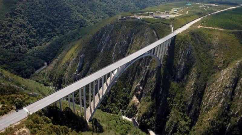 Puenting en Bloukrans Bridge