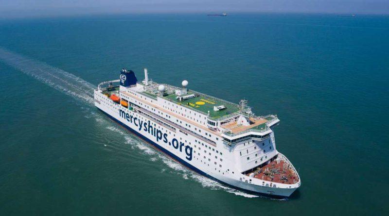 Puesta en servicio de un ferry para asistencia médica mundial