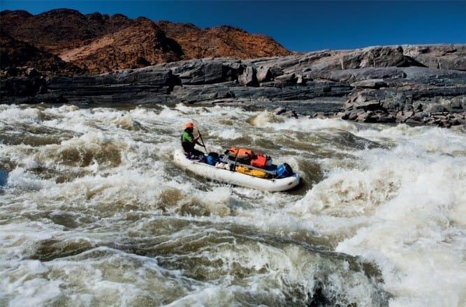 Rafting en Sudáfrica