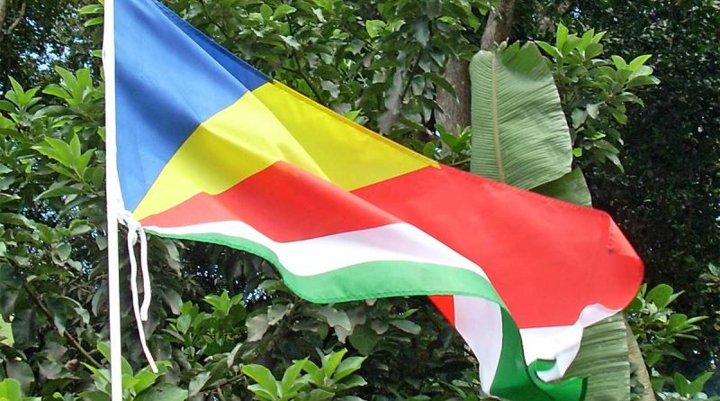 Drapeau des Seychelles