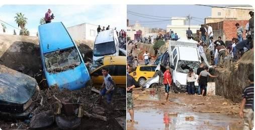 Túnez en duelo por el clima severo