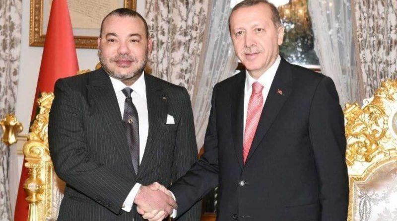 Turquía, Marruecos: Erdogan elogia a Mohammed VI