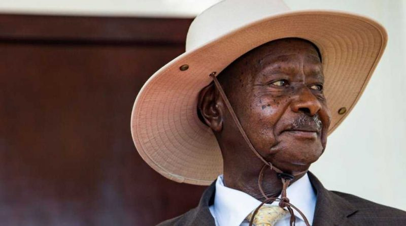 Le Président ougandais, Yoweri Museveni