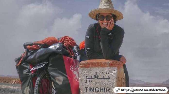Una joven marroquí se desafía a sí misma a cruzar África en bicicleta para defender los derechos de las mujeres africanas