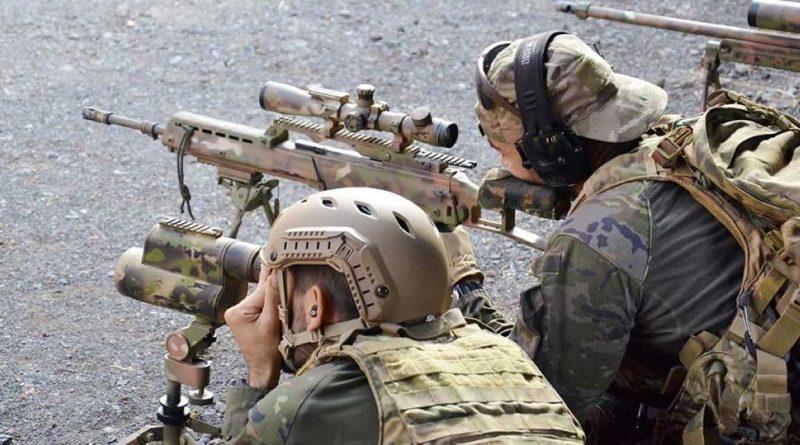 el ejército español quiere asegurar sus fronteras