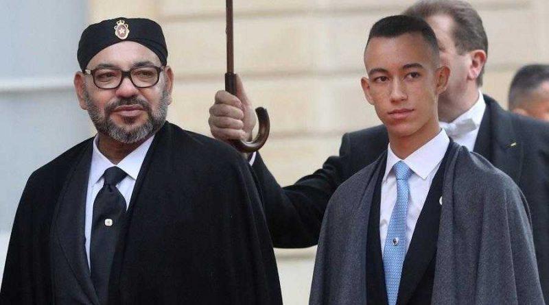heredero de Mohammed VI, Moulay Hassan en una misión de comando