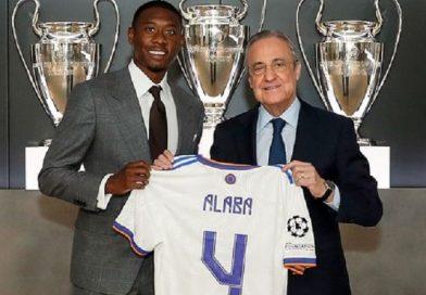 Alaba Real Madrid